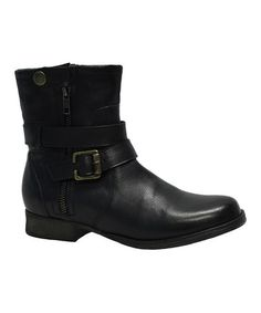 Look what I found on #zulily! Black Voodoo Leather Boot #zulilyfinds