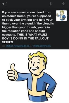Fallout - now I know lol