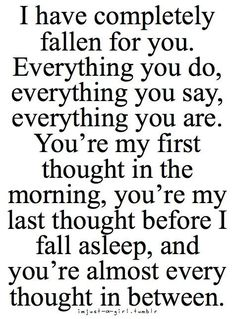 I Do love everything about YOU!!! Today was so perfect..so wonderful!!! I just ache to be with YOU ALL of the time!! I Miss YOU so much already!! YOU truly are my soulmate!! I LOVED holding U..pleasing U..walking..talking..EVERYTHING!!!!!! I Love YOU with ALL my heart!!!!***