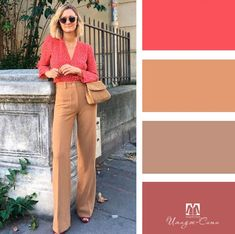 Colour Combinations Fashion, Color Combinations For Clothes, Color Blocking Outfits, Fashion Colours, Colorful Fashion, Color Combos, Mode Outfits, Chic Outfits, Fashion Outfits