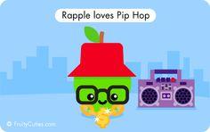 Rap Apple - Cute Comedy with Kawaii Fruit cartoons
