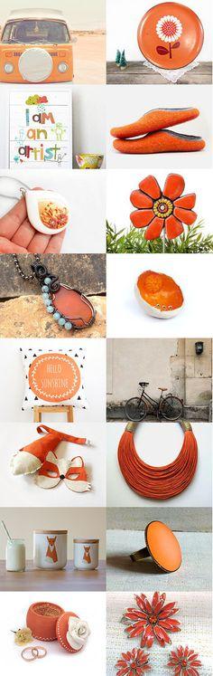 orange life by Sandnaht on Etsy--Pinned+with+TreasuryPin.com