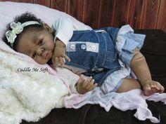Biracial Reborn Baby Girl for sale - Felicia by Adrie Stoete