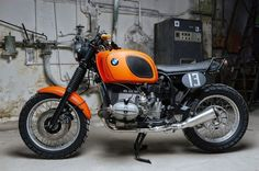 Nice rack! RocketGarage Cafe Racer: Orange Beemer: