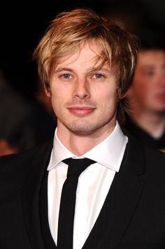 "Bradley James, plays King Arthur on BBc's ""Merlin.""    Love him!"