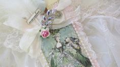 Marie Antoinette Gift Tag  With Vintage by underthenightmoon, $24.00