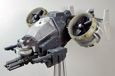 S9 Warhammer 40k Space Marine Storm Talon conversion Orca