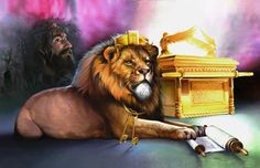 Spencer Williams Solid-Faced Canvas Print Wall Art Print entitled Ark Of Covenant Christian Paintings, Christian Artwork, Christian Artist, Christian Pictures, Religious Paintings, Religious Art, Spencer Williams, Arc Of The Covenant, Tribe Of Judah