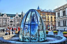 The Central Square of Tampere, Finland                                                                                                                                                                                 More