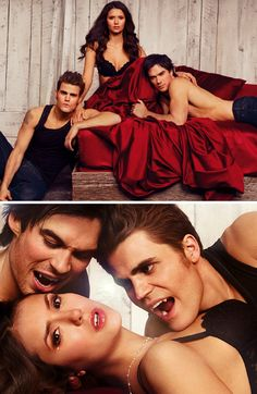 The Vampire Diaries. My absolute favorite show at the moment. I'm addicted.