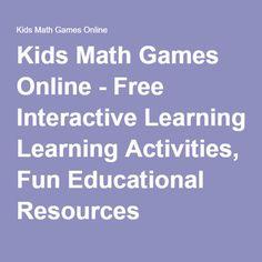kids math games online free interactive