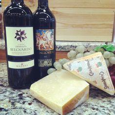 Sangiovese Wine pairs amazing with any goat's milk cheese. Indulge. #italianwine #italiancheese #italiansknowtheirflavors |  donpepino.com