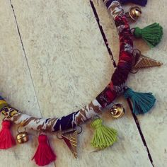 Boho necklace handmade