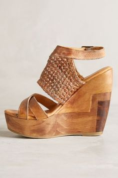 Bed Stu Petra Wedges - anthropologie.com