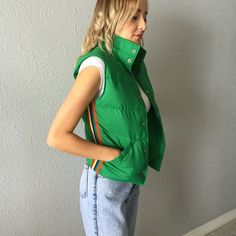 1980's Vintage Ski Puffer Vest In good condition! Fits like an XS Vintage Jackets & Coats Puffers