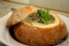 Receita de Sopa no pão italiano em receitas de sopas e caldos, veja essa e outras receitas aqui!