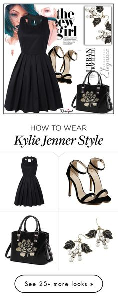 """""""rosegal-41"""" by lana-97 on Polyvore featuring Elegance, blak and fashionset"""