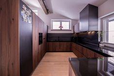 Gesamtkonzept Wohnung G. - Innenarchitektur by Kotrasch Kitchen Cabinets, Home Decor, Reclaimed Wood Kitchen, Condo Interior Design, Carpentry, House, Decoration Home, Room Decor, Kitchen Base Cabinets