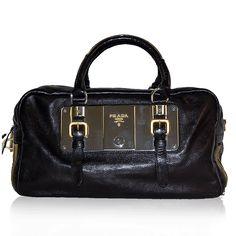 Prada Black Zipper Bag http://www.consignofthetimes.com/product_details.asp?galleryid=8136