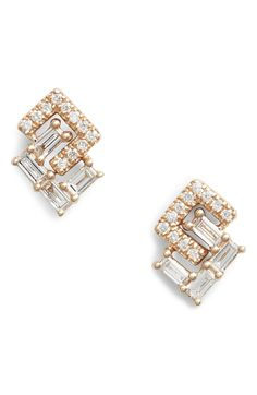 9b28c063e 1026 Best DRD EARRINGS images in 2019 | Diamond Earrings, Dana ...