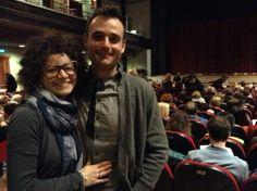 """#parlailpubblico #TeatriDICivitanova """"Il teatro permette partecipare all'emozione che nasce da qualcosa di reale.""""(Elly da Montecosaro e Rodolfo da Civitanova Marche) 25 marzo 2014"""