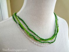 Chainy Chain Necklace (Pattern + Project)