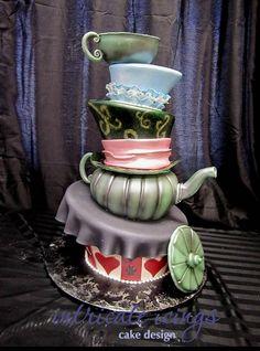 Alice in Wonderland 1 - Avie Sweet Cakes