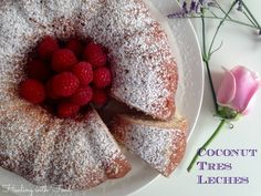 Coconut Tres Leches cake Tres Leches Cake, Coconut, Cakes, Form, Breakfast, Sheet Metal, Morning Coffee, Pastries, Torte
