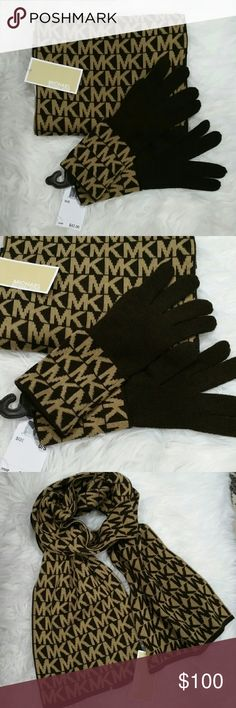 LAST ONE🎄🎁💯Michael Kors SET scarf & gloves NWT 🌟🌟Trusted Seller🌟🌟Suggested User🌟🌟 💯Authentic  🌟Brand new with tags 🌟 Michael Kors gloves and scarf set. Not in a box.  Colors cream and cream. Make this the perfect staple accessories in your wardrobe or as a gift to someone you care for!!!   Box set of Scarf & Beanie available in closet.  🎈check out my closet for more MK accessories🎈  💖Shop with confidence💖💖 🎉🎊Suggested User🎊🎉 📮💌Same day shipping📮💌 5🌟🌟🌟🌟🌟 star…