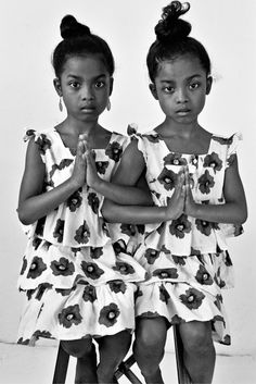 twins by Delphine Diaw Diallo. auditioned for Sync!
