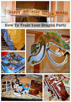 We had a How to Train Your Dragon party for my daughter's 7 birthday. Get free printables and ideas. A post from Seattle area blog Long Wait For Isabella.