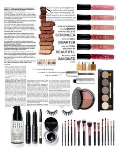 """""""Makeup"""" by dorotea0206 ❤ liked on Polyvore featuring beauty, BCBGMAXAZRIA, M.O.T.D Cosmetics, Bobbi Brown Cosmetics, Urban Decay and Smith & Cult"""