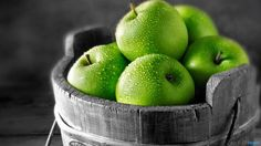 Green Apple Fruit Wallpaper from Fruits&Vegetables. amazing image of green fruit Apple Wallpaper, Nature Wallpaper, Hd Wallpaper, 1920x1200 Wallpaper, White Wallpaper, Toner For Face, Facial Toner, French White Wines, Apple Picture