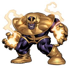 Thanos by Mike Deodato Jr. Colors by Rain.
