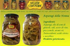 Asparagi della nonna in olio di semi   Delizie Contadine