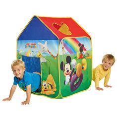 CASITA INFANTIL MICKEY MOUSE DE TELA. 156MCY01E, IndalChess.com Tienda de juguetes online y juegos de jardin
