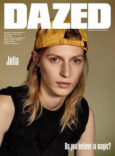 Julia Nobis, Rianne van Rompaey, Tinashe by Collier Schorr, Sean + Seng for Dazed Magazine Winter 2015 1
