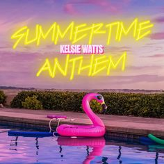 The gifted Kelsie Watts has struck a lasting connection with fans with the pop song 'Summertime Anthem' #KelsieWatts #SummertimeAnthem #PopMusic #Rock #Spotify #thetunesclub Pop Rock Songs, Pop Songs, News Track, Pop Music, News Songs, Summer Days, Summertime, Neon Signs, Your Back
