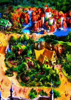 Walt Dinsey World's upcoming plans for Fantasyland. Do you see Prince Eric's kingdom?! :]