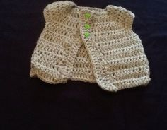 Handmade froggie sweater hat and diaper cover by CrochetedByJanice