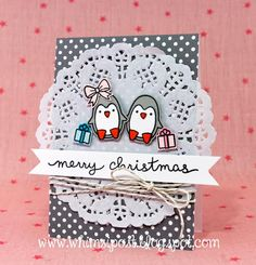 the Lawn Fawn blog: Cute Toboggan Together Card by Elise