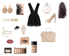 """""""Untitled #27"""" by shawin-ary ❤ liked on Polyvore featuring Qupid, Givenchy, Alexis Bittar, Pomellato, Smashbox, NARS Cosmetics, Urban Decay, Chanel and MAKE UP FOR EVER"""