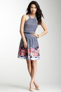 such a cute halter dress