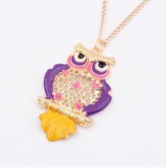 http://www.jewelryshopvip.com/exquisite-retro-owl-necklacepurple-p-25703.html