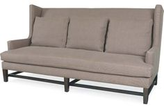 4974-03 Sofa  Overall: W86  D40  H42   Inside: W76  D23  H23   Seat Height: 18 Arm Height: 23 Back Rail Height: 42