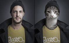Animals Dressed Up In Their Owners' Clothing.,,cat-christian_2961554k