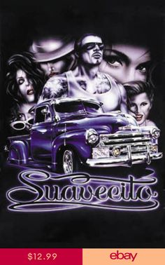 Buy Hot Stuff 8 x 10 in. Suavecito Lowrider Poster Print at UnbeatableSale Lettrage Chicano, Chicano Love, Chicano Art Tattoos, Chicano Drawings, Lowrider Tattoo, Arte Lowrider, Arte Cholo, Cholo Art, Street Art Poster