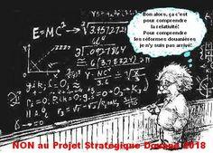 Bon alors, ça c'est pour comprendre la relativité! Pour comprendre les réformes douanières je n'y suis pas arrivé! NON au Projet Stratégique Douane 2018