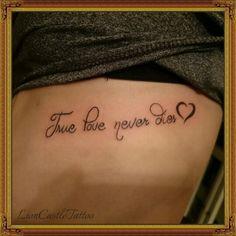 Tattoo Frase Por LionCastleTattoo