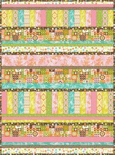 Gorgeous quilt (and fab fabric collection too)